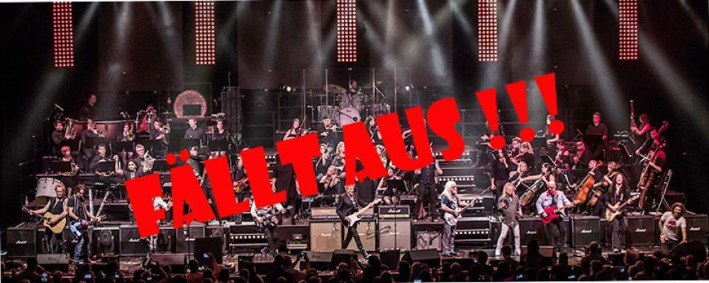 Rock meets classic abgesagt !!!