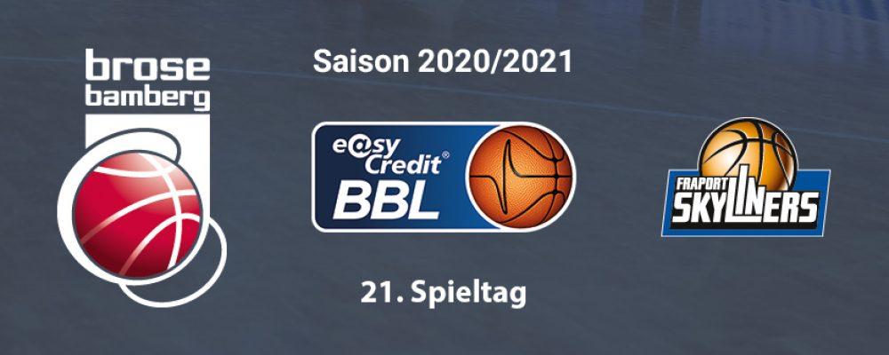 Brose Bamberg ist gegen Frankfurt gefordert