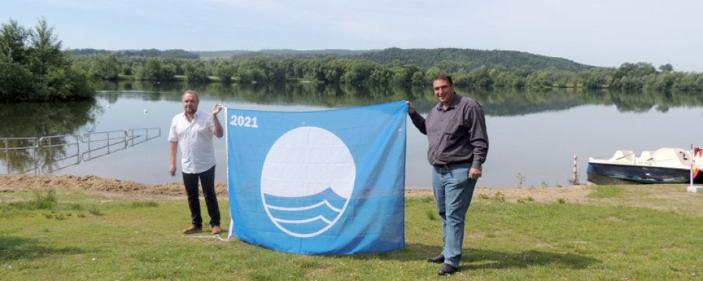Badeseen im Obermaintal sind stolz auf Blaue Flagge