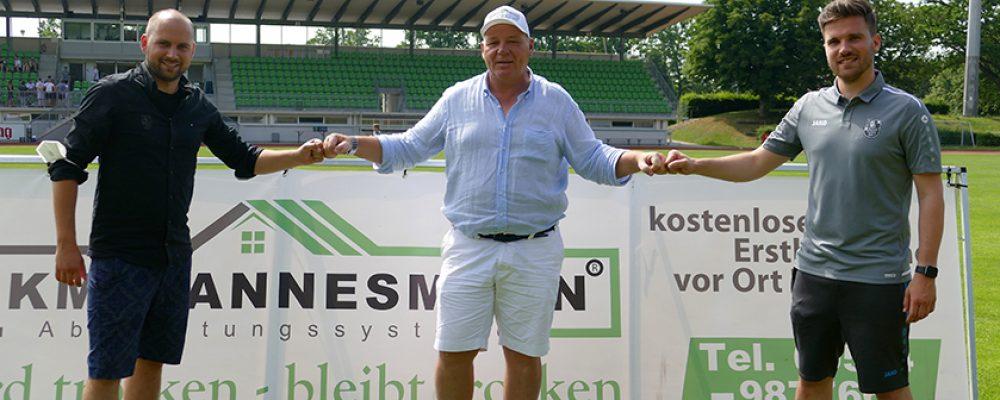 BKM Mannesmann und der FC Eintracht Bamberg verlängern Zusammenarbeit