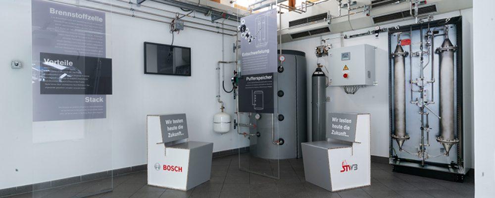 """OB Andreas Starke: """"Brennstoffzellentechnologie führt Bosch-Standort Bamberg in die Zukunft"""""""