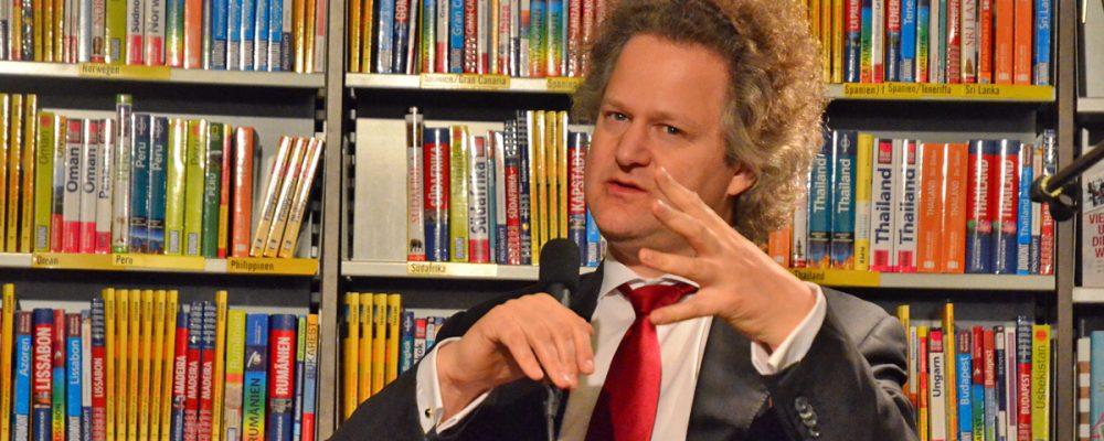"""Oscar Gewinner Florian Henckel von Donnersmarck las aus seinem neuen Buch """"Kino!"""" im Hübscher Buch und Medienhaus"""