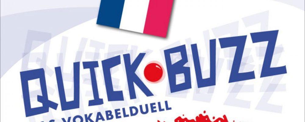 Spieltipp der Woche: QUICK BUZZ – Das Vokabelduell – Französisch