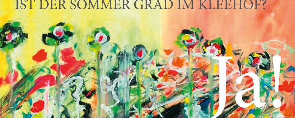 Bilder von Sigi Hirsch. Im KLEEHOF in der Gärtnerstadt, Untere Königstraße 6, Bamberg