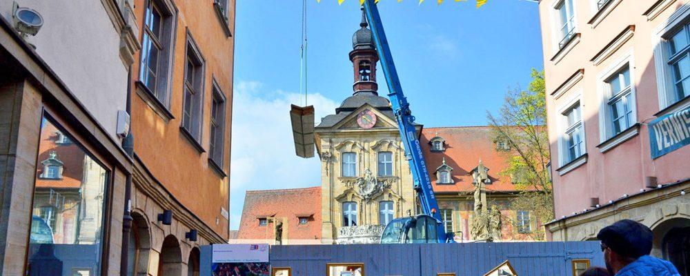 """""""Baustelle meets Musik"""": Konzerte und Theater am Rathaus"""