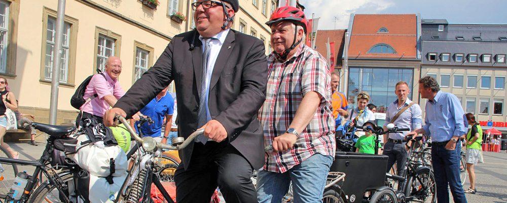 Stadtradeln-Aktion: Bamberger sammeln Kilometer