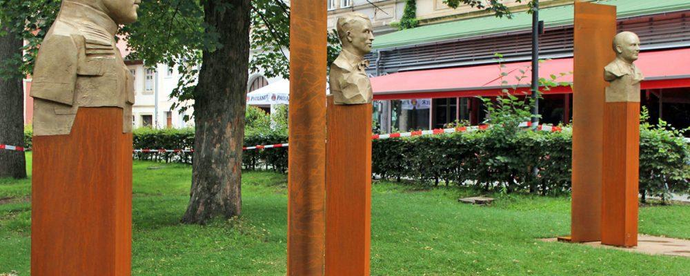 Widerstands-Mahnmal im Harmoniegarten enthüllt