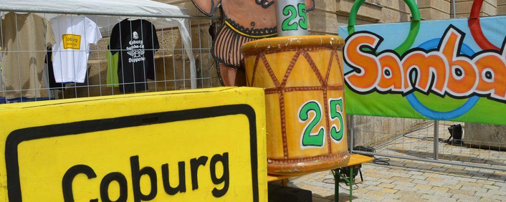 Passendes Samba-Wetter beim 25. Samba Festival in Coburg