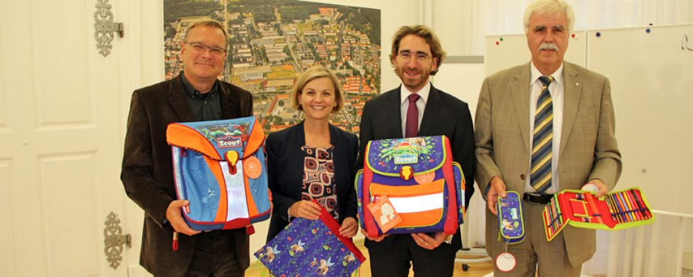 50 Schulranzen für Bamberger Erstklässler