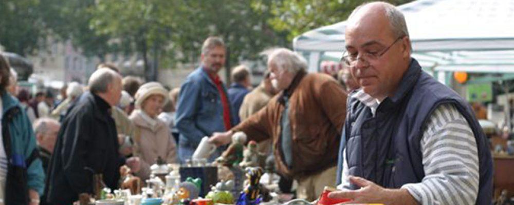 17. Bamberger Antikmarkt am 3. Oktober 2016 mit extra Kinderflohmarkt