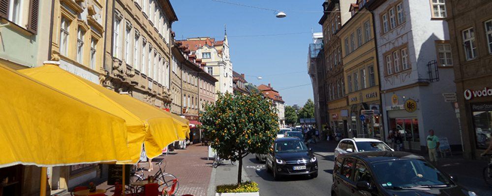 Neugestaltung der Langen Straße in Bamberg