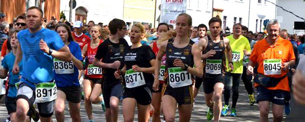 Tausende Sportler mühen sich beim Weltkulturerbelauf ab