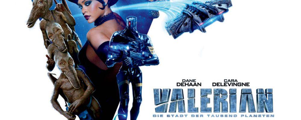 Kinotipp der Woche: Valerian – Die Stadt der tausend Planeten