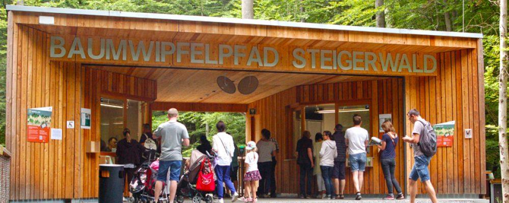 Blick für die Götter: Der Baumwipfelpfad im Steigerwald