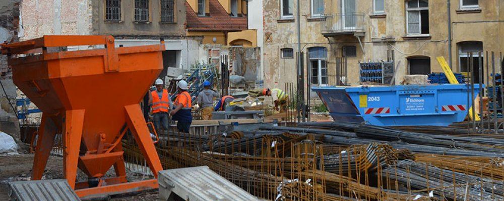 Bambergs Baustellen machen Fortschritte