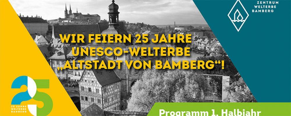 Jetzt geht's los: Bamberg feiert 25 Jahre Welterbe