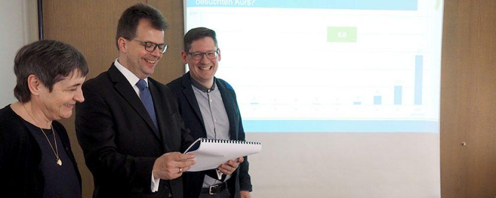 Bestnoten für die Volkshochschule Bamberg-Stadt