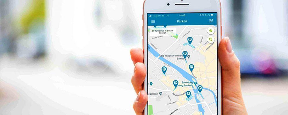 Parken per Handy – jetzt auch in Bamberg möglich