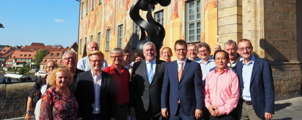 Domstadt und Vestestadt vertiefen Kulturzusammenarbeit