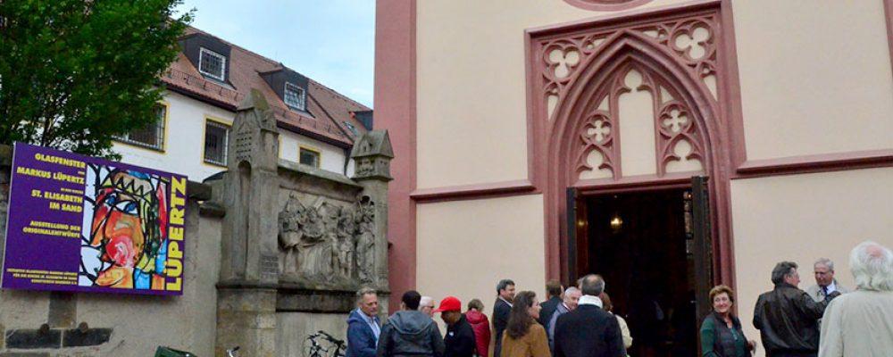 Erstes Lüpertz-Fenster für St. Elisabeth