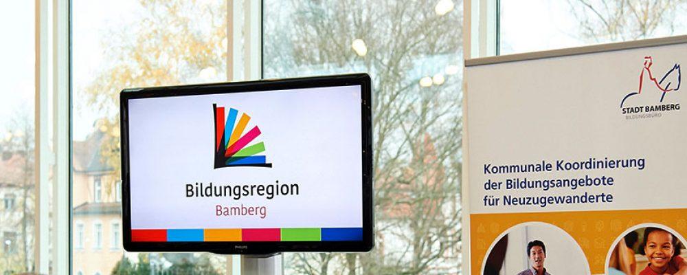 """Weiterer Meilenstein auf dem Weg zur """"Bildungsregion Bamberg"""" erreicht"""