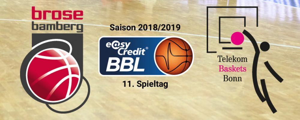 Endlich wieder Heimspiel! Brose empfängt Bonn
