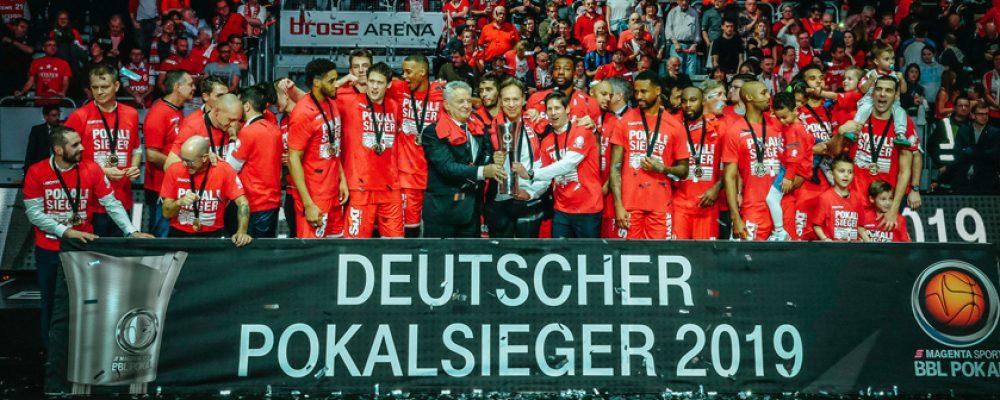 Zisis sei Dank: Brose Bamberg gewinnt den MagentaSport BBL-Pokal 2019