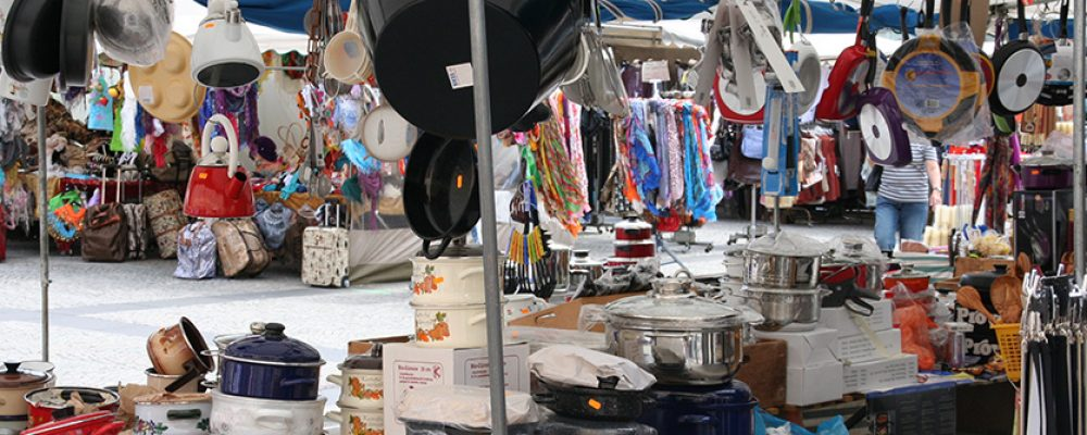 Frühjahrsmarkt auf dem Maxplatz