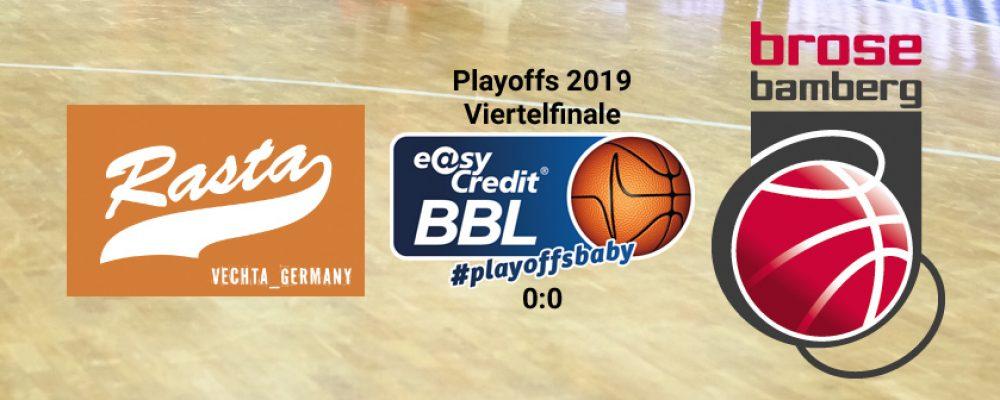 PlayoffsBaby! Brose Bamberg startet auswärts in die Postseason
