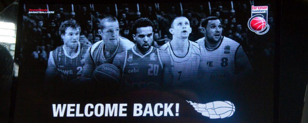 Bamberg feiert 50 Jahre Bundesliga-Basketball