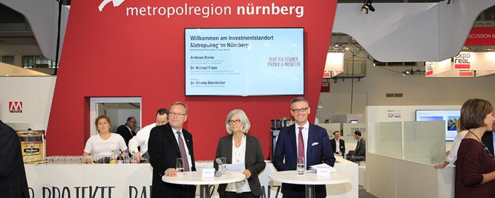 Metropolregion präsentiert sich auf der EXPO REAL 2019