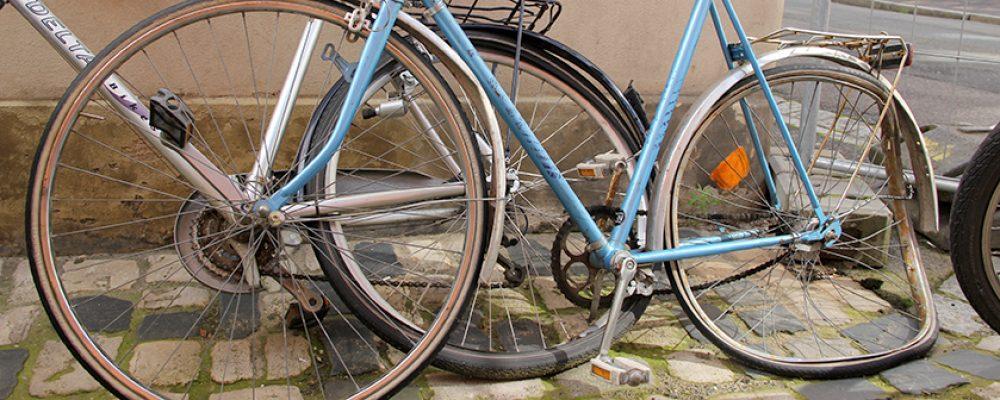 Stadt Bamberg geht konsequent gegen  Schrottfahrräder vor
