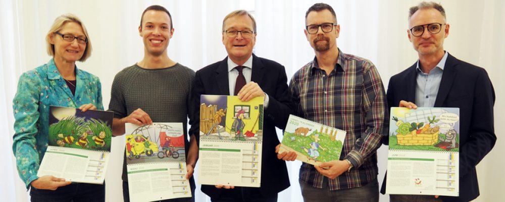 Umweltkalender 2020 ab 9. Dezember erhältlich