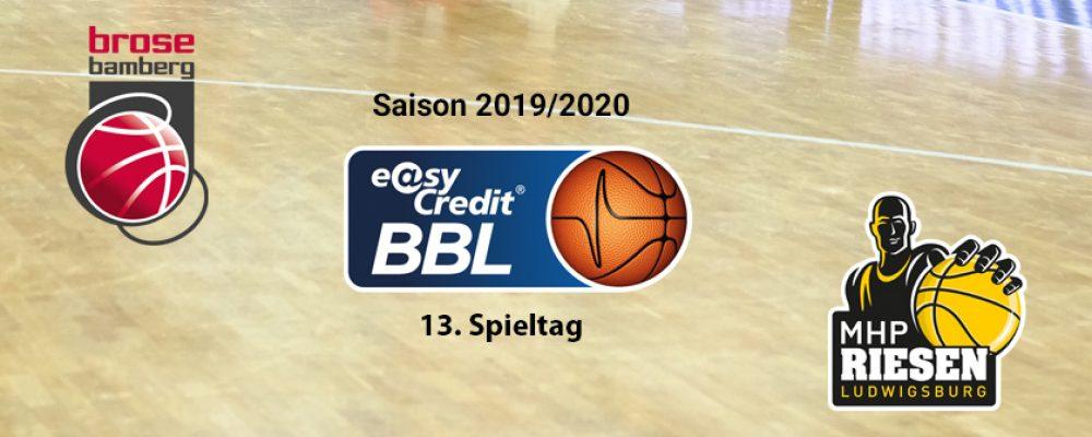 Brose Bamberg empfängt Ludwigsburg