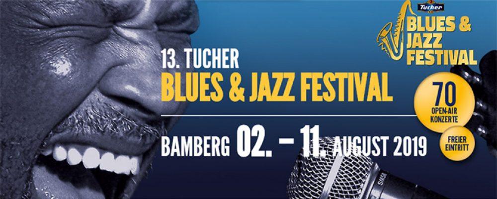 Tony Bullock eröffnet 13. Blues- und Jazzfestival
