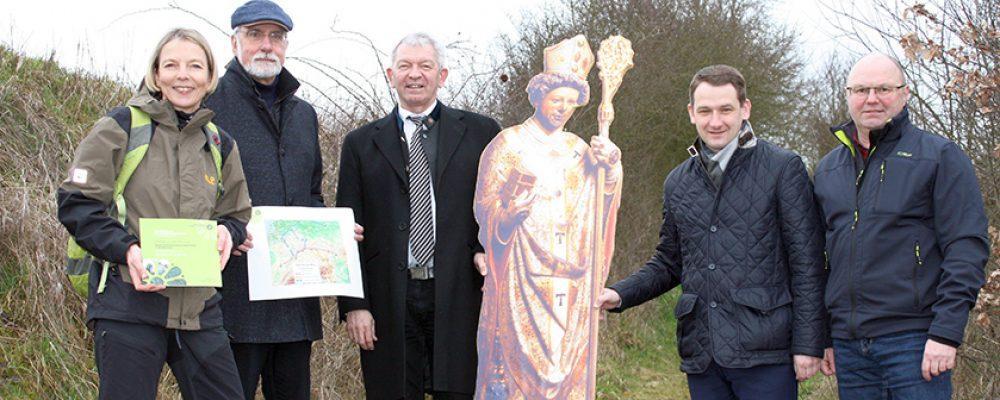Bischof Otto auf dem Europäischen Zisterzienserweg