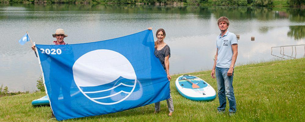 Blaue Flaggen wehen wieder im Flussparadies Franken