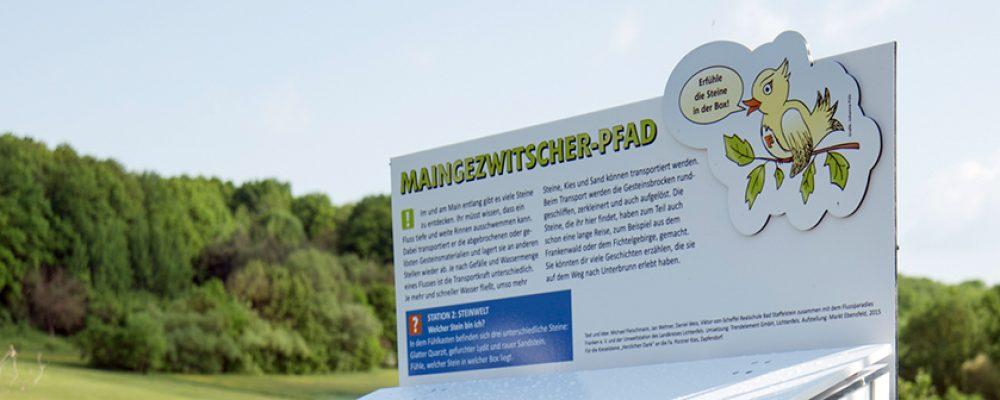 Flussparadies empfiehlt Familienausflug zum Maingezwitscher-Pfad