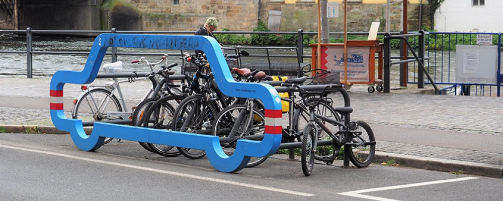 Bamberg bekommt Lastenfahrrad-Parkplätze