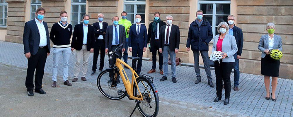 Startschuss für den Metropol-Radweg Bamberg – Nürnberg