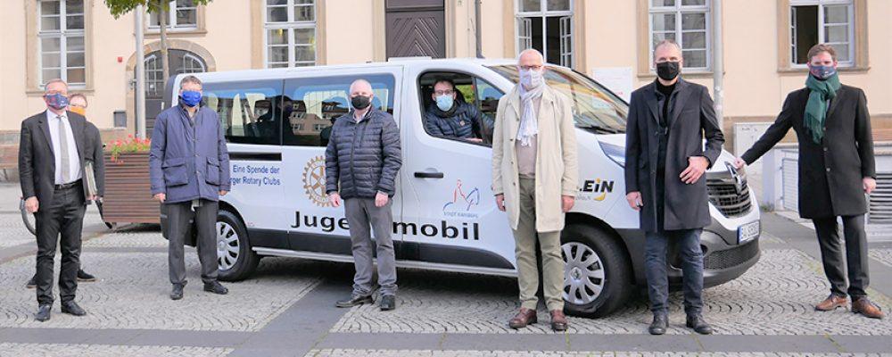 Neues JuMobil für die Jugendarbeit