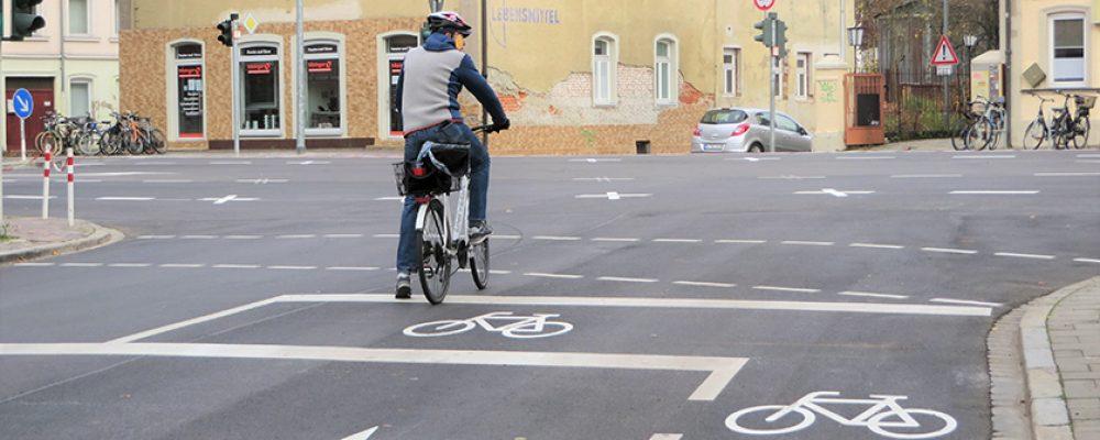 Mehr Sicherheit für den Radverkehr