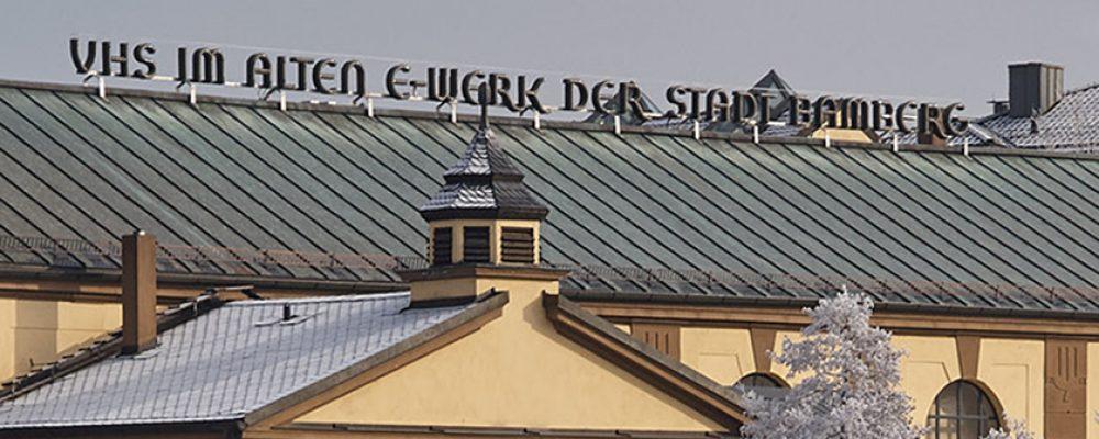 Kein Präsenzbetrieb in der VHS Bamberg Stadt ab 1. Dezember