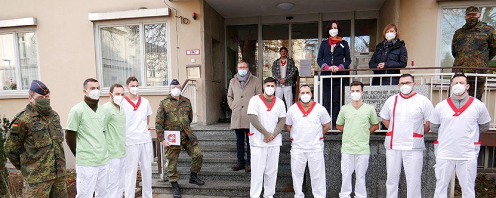 Bundeswehr hilft in Pflegeheimen