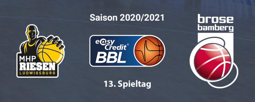 Brose Bamberg unterliegt in Ludwigsburg