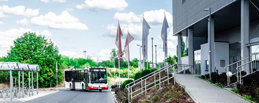 Stadt und Landkreis richten Bus-Shuttle zum Impfzentrum Bamberg ein