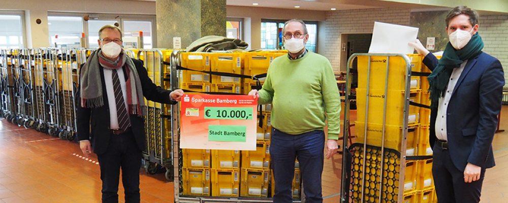 20.000 FFP2-Masken an Bedürftige versandt