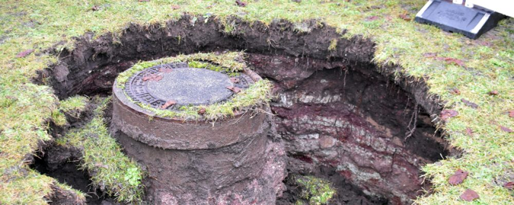 Michaelsberg-Terrasse wegen Kanalbruch gesperrt