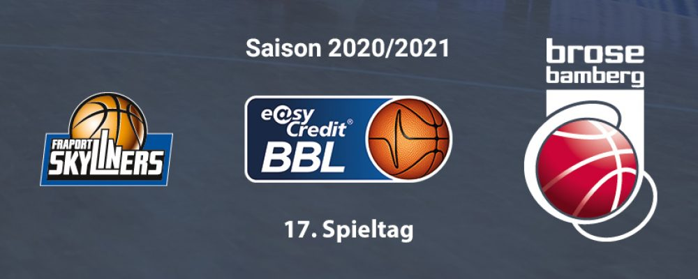 Brose Bamberg bestreitet Hinrundenfinale in Frankfurt