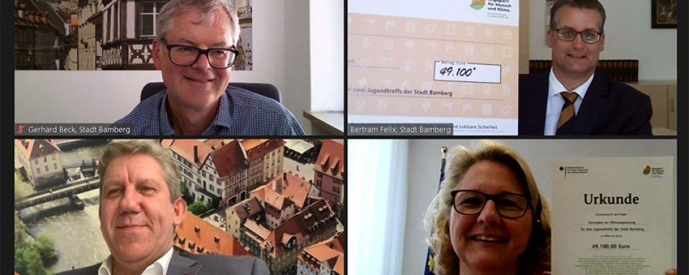 Bundesumweltministerium fördert  Jugendtreffs mit 49.100 Euro